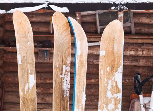 """""""Ski vor Berghütte"""" SKU: 16_33_004"""
