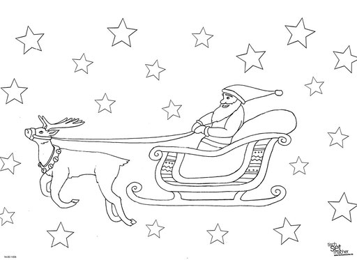 """""""Weihnachtsmann mit Schlitten"""" SKU: 16_20_1_026"""
