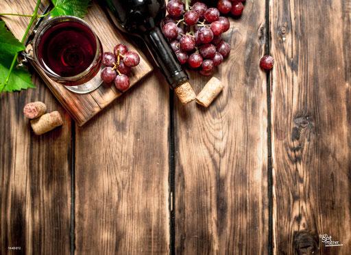 """""""Holztisch mit Wein"""" SKU: 16_43_012"""