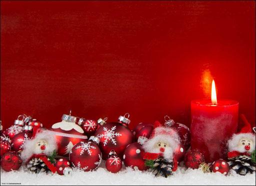 """""""Weihnachtliches Arrangement in rot-weiß"""" SKU: 18_42_110"""