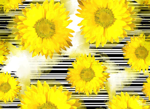 """Sonnenblumen Grafik"" SKU: 16_64_010"