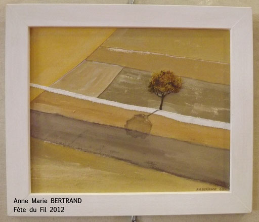 Anne Marie BERTRAND, Art Textile. Exposition à la Fête du Fil 15 août Labastide Rouairoux (tarn-81270) FRANCE