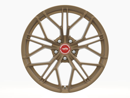 RAFFA WHEELS RF-02 MATT BRONZE