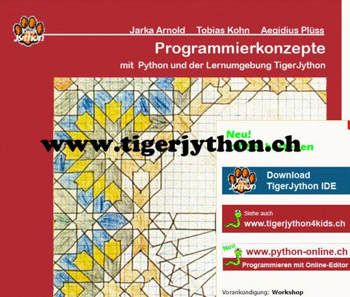 WebTigerJython - Anleitung