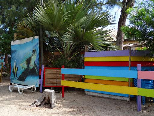 Le Kabanon, sur la plage de l'Ermitage