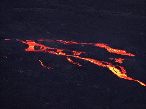 Coulées de lave Septembre 2015