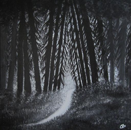 Black Forest, 50x50 cm