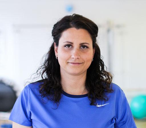 Vincenza Ciavarella - Leitung Heimbetreuung und Bobaththerapie, Physiotherapeutin, Bobaththerapeutin, LIN-Lagerung, Intensivtherapeutin