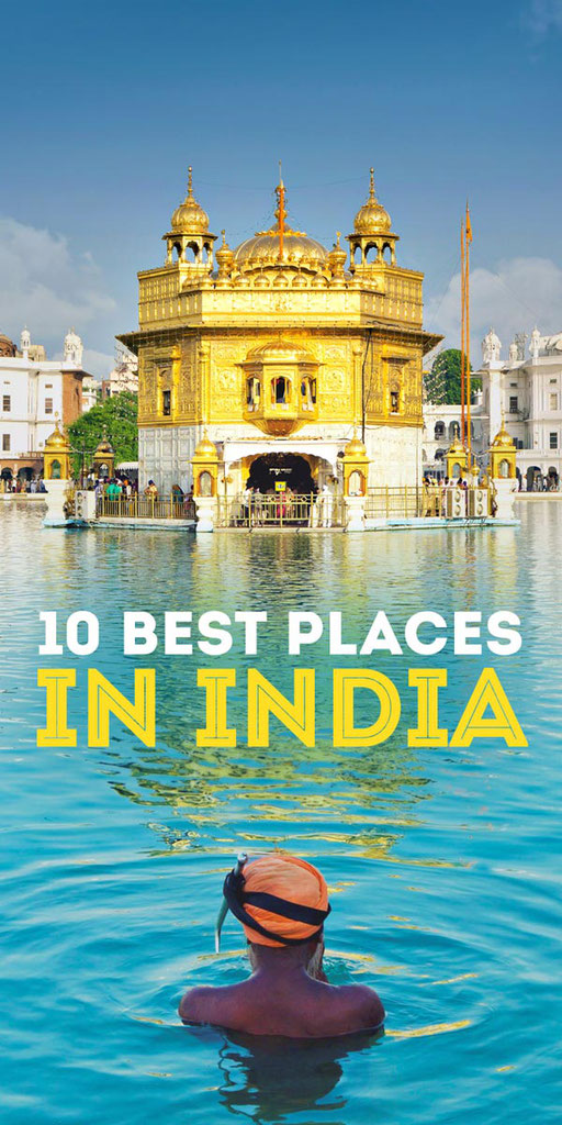 Best Places To Visit In India Plus Things To Do | via @Just1WayTicket | Photo © somchaisom/Depositphotos