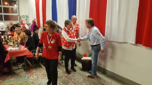 Spielmannszug Echo Niederdrees eV. Rheinbach Sitzung 2018  Ende