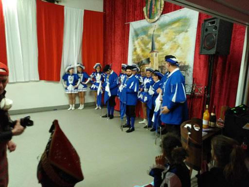 Spielmannszug Echo Niederdrees eV. Rheinbach Sitzung 2018 Euskirchen
