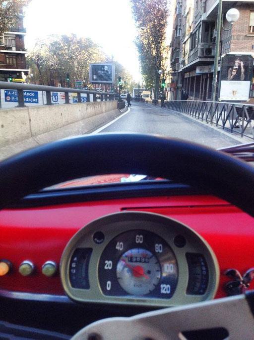 Madrid en Seat 600