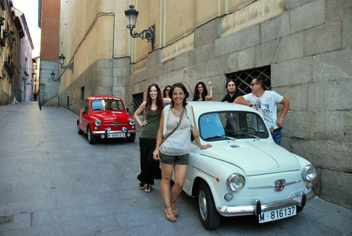 Tours en grupos Madrid