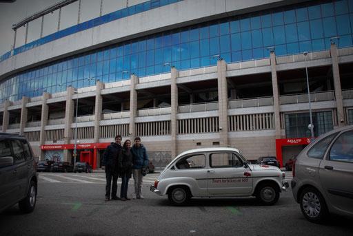 Estadio Santiago Calderon Seat 600
