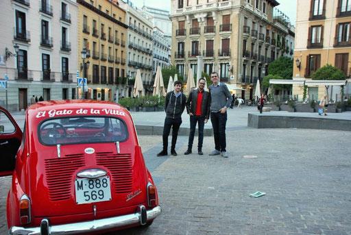 seat 600 madrid turismo