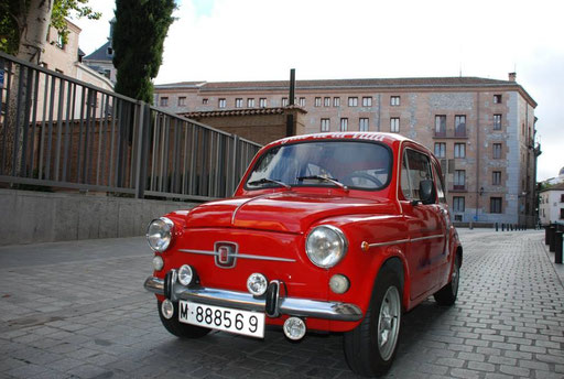 Tours Madrid Seat 600