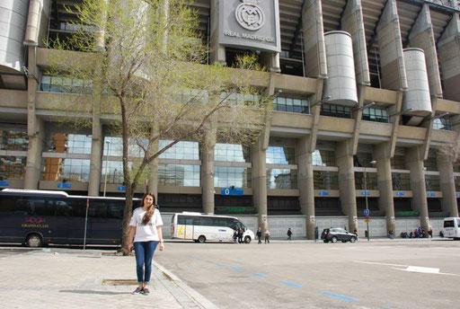 Santiago Bernabeu tour Madrid