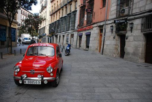 Cava baja ruta turistica Madrid