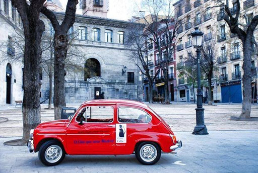 Conocer Madrid Seat 600