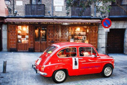Restaurante Botin cultura Madrid