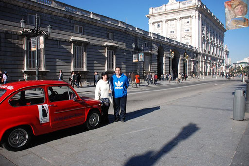 Palacio Real de Madrid tour