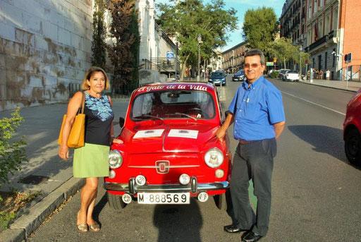 Turismo en  coche clasico