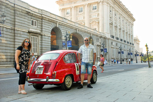 Seat 600 tours Madrid