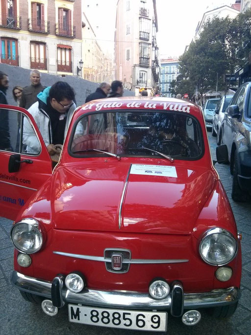 seat 600 tour madrid