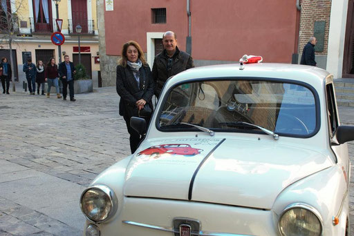 Seat 600 Madrid tours