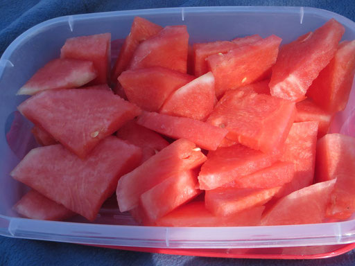Wassermelone, herrlich erfrischend und fruchtig!