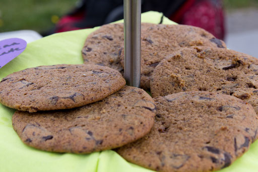 Vollkorn-Schoko-Kekse