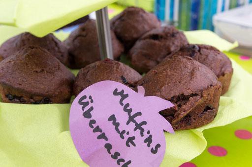 Muffins mit Überraschung