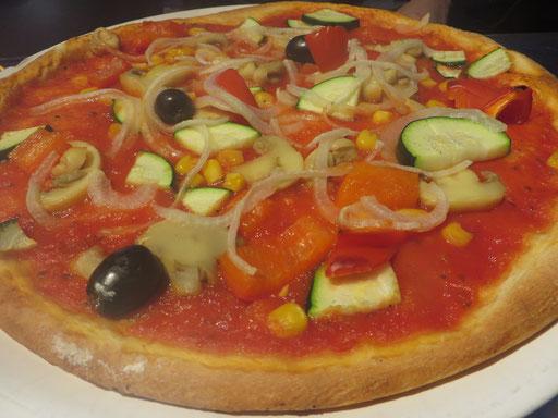 Pizza Vegetaria, auch ohne Käse richtig lecker