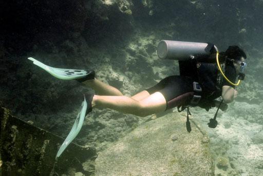 Die richtige Passform ist entscheidend für den Hängematten-Dive