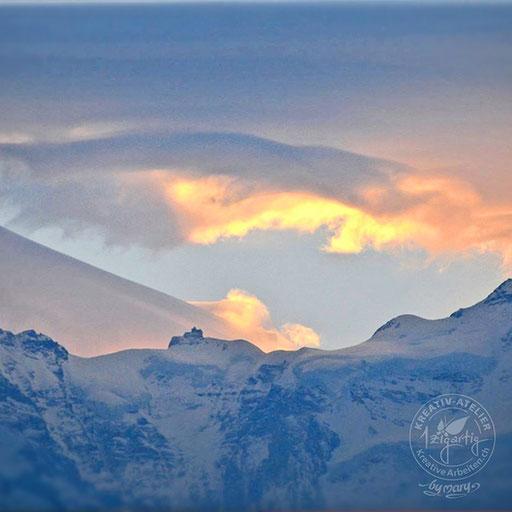 Morgenstimmung mit Jungfraujoch Top of Europe, © www.kreativearbeiten.ch