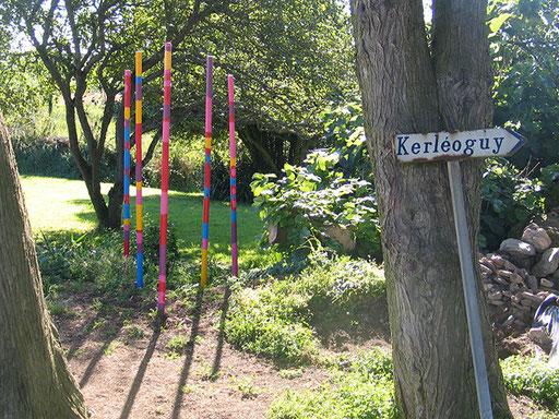 Kunst am Eingang Kerléoguy