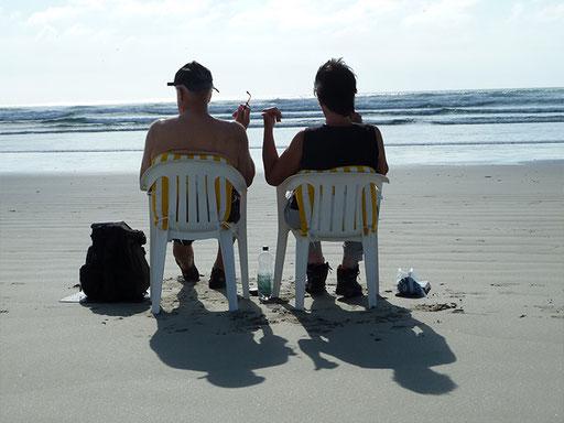 Das Strandleben genießen