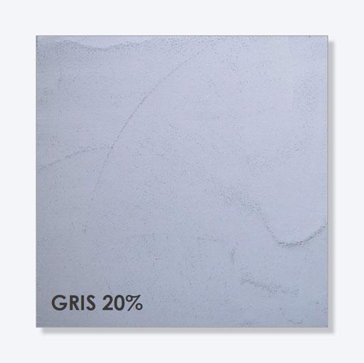 Kleur - Gris 20%