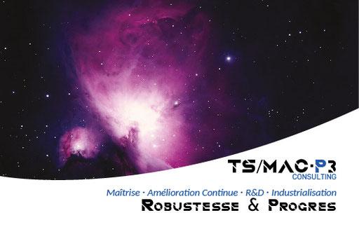 Carte & dépliant TS MAC P3 - Expert chimie en traitement de surfaces