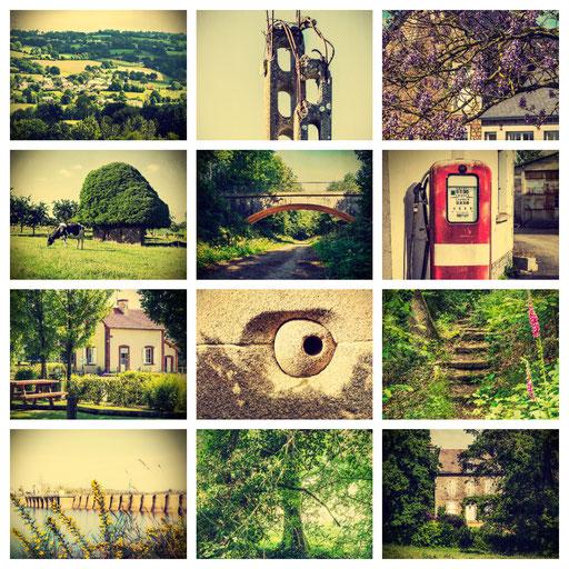 Série de 12 visuels pour communes d'Isigny-le-Buat