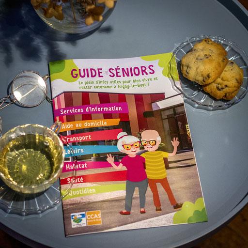 Guide des séniors - 12 pages - Un concentré d'informations utiles