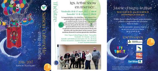 Brochure culturelle d'Isigny-le-Buat - 12 pages