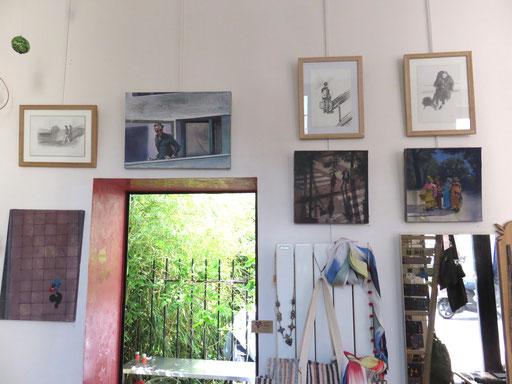 Mehrzad Najand - peintures:  acrylique sur toile -  dessins: mine de plomb