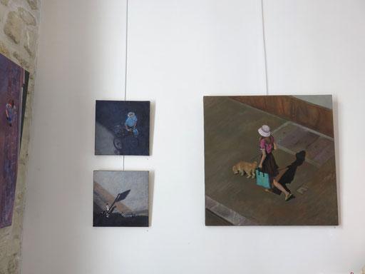 Mehrzad Najand - peintures:  acrylique sur toile - 30x30cm - 70x70cm