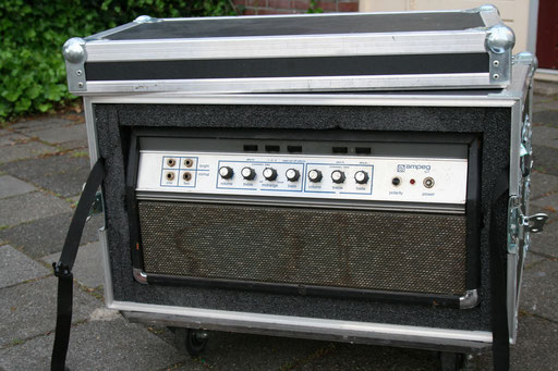 Ampeg 1969 Blue Line SVT S/N BB871596 modified with early '70s SVT transformer, DI and new tubes late 2014