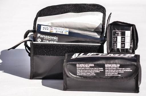 sac de chargement batterie vtt