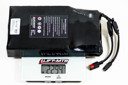 14Ah flat electric mountain bike battery