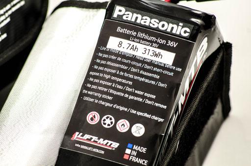 batterie additionnelle vtt électrique 313wh