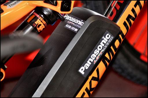 portaborraccia per batteria da bicicletta