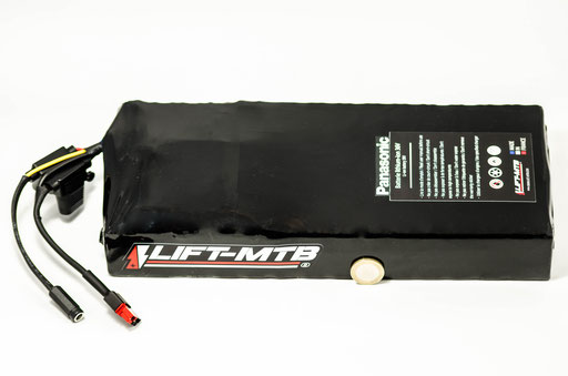 batteria per mountain bike elettrica piatta aggiuntiva